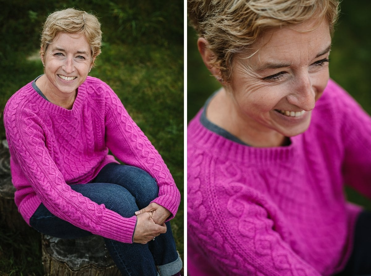 close-up images pink jumper pink jumper smiling businesswoman puremess natural skincare personal branding photoshoot session guildford surrey brand photographer headshot photo