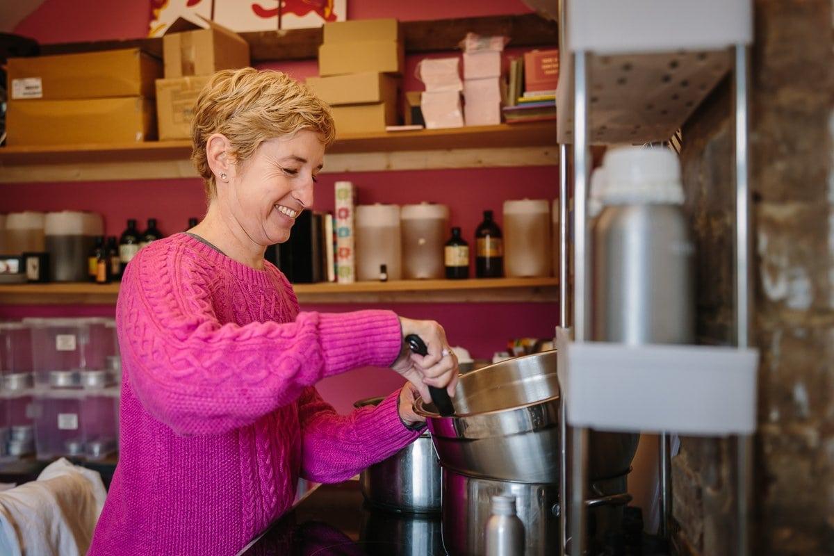female entrepreneur workshop pink jumper female entrepreneur workshop pink jumper